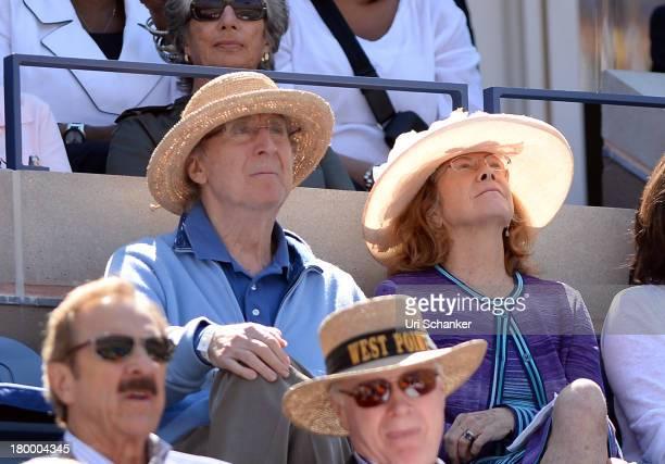 Gene Wilder attends the 2013 US Open at USTA Billie Jean King National Tennis Center on September 7 2013 in New York City