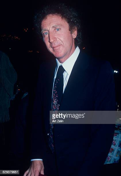Gene Wilder in a suit and tie; circa 1970; New York.