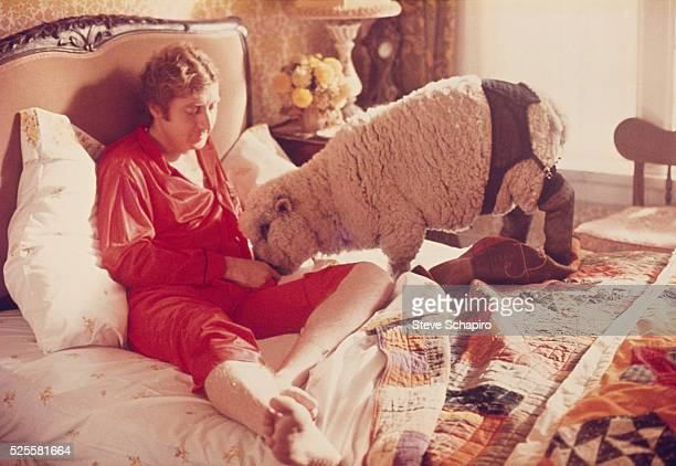 Gene Wilder in bed with Daisy the sheep in Woody Allen's sex comedy 'Everything You Wanted to Know About Sex But Were Afraid to Ask'