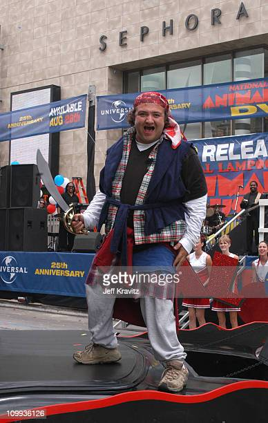 Gene Zeldin portraying John Belushi during Animal House 25th Anniversary Ultimate Homecoming Parade DVD Release Extravaganza at Hollywood Boulevard...