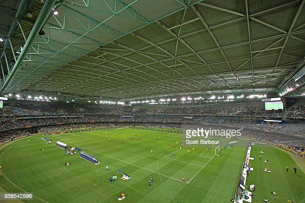 A geneal view during the International Friendly match between the Australian Socceroos and Greece at Etihad Stadium on June 7 2016 in Melbourne...
