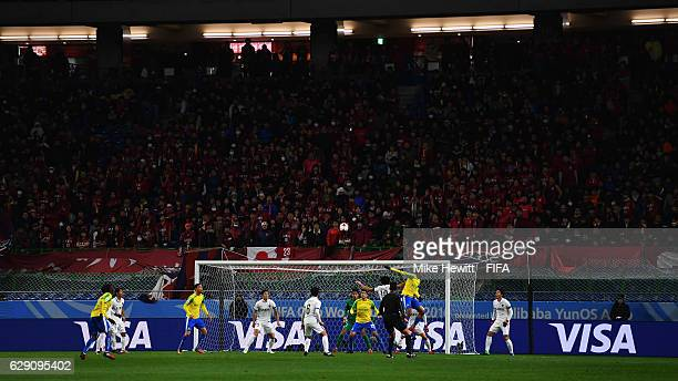 General action during the FIFA Club World Cup second round match between Mamelodi Sundowns and Kashima Antlers at Suita City Football Stadium on...