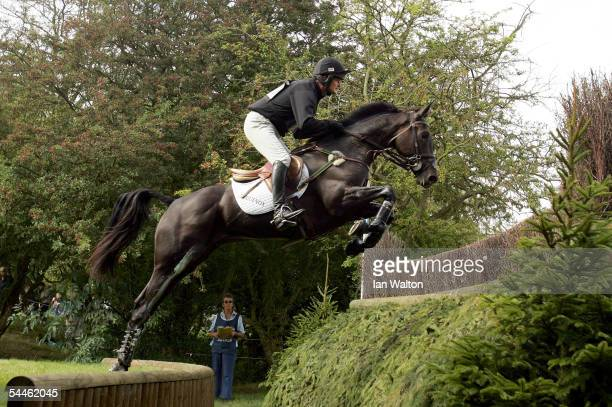 general action in the Cross Country during the 2005 Burghley Horse Trials on September 4 2005 in Stamford Lincolnshire England