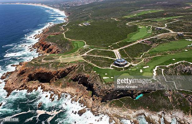 General Aerial View of Pinnacle Point Golf Course in Western Cape, South Africa on the 3rd of December 2007.