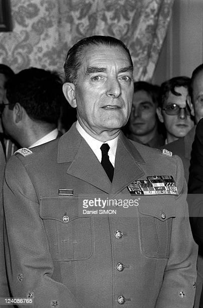 General Alain de Boissieu In Paris France On February 03 1975
