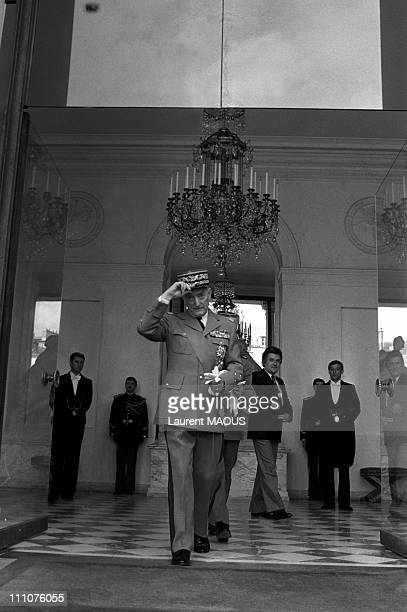 General Alain de Boissieu resigns in Paris France on May 13th 1981