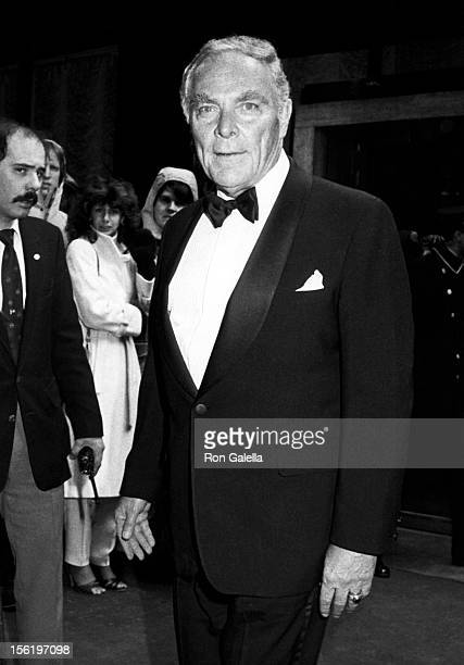 General Alexander Haig attends Gala Tribute Honoring Ronald Reagan and Nancy Reagan on January 19 1985 at the Madison Hotel in Washington DC
