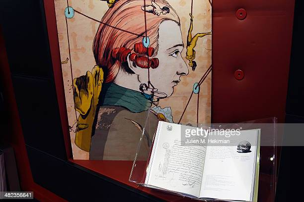 A general ambiance of atmosphere of the launch celebration of 'Donatien Alphonse Francois de Sade' at Assouline Paris in the presence of the...