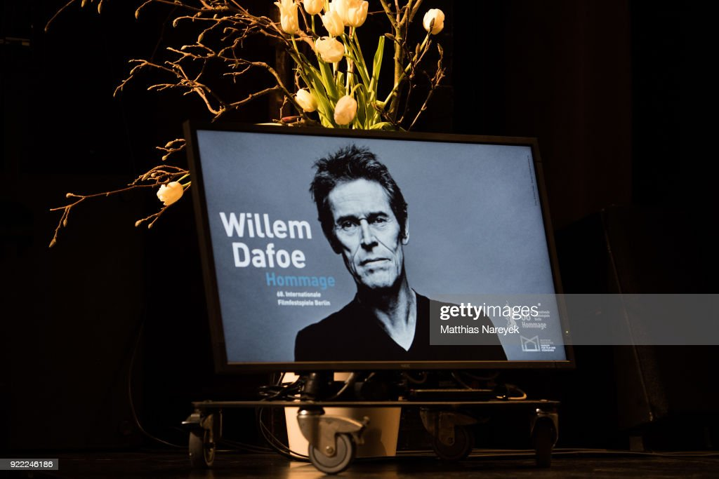 General amtosphere at the homage event 'A Journey Through Time with Willem Dafoe' during the 68th Berlinale International Film Festival Berlin at Hebbel am Ufer on February 21, 2018 in Berlin, Germany.