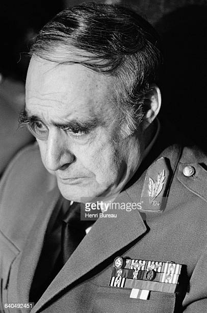 General Antonio Spinola nominated President of the Junta after the April 25 coup d'etat which overthrew the dictatorship Lisbon Portugal