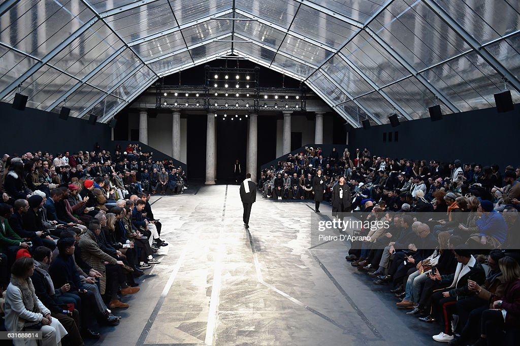 Neil Barrett - Runway - Milan Men's Fashion Week Fall/Winter 2017/18 : News Photo