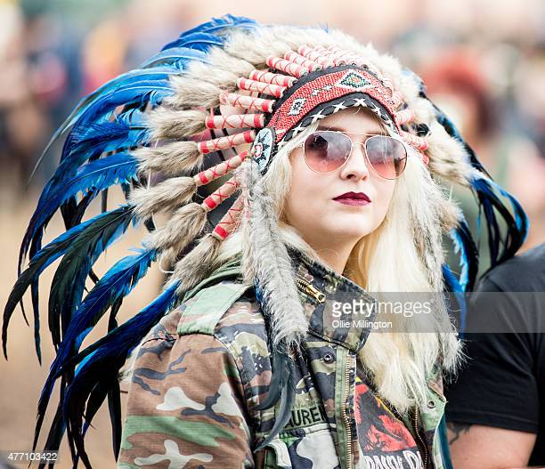 General atmopshere on Day 3 of the Download Festival 2015 at Donnington Park on June 14 2015 in Donnington United Kingdom