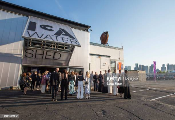 General atmosphere are the ICA Boston Watershed Gala presented by Max Mara on June 21 2018 in Boston Massachusetts