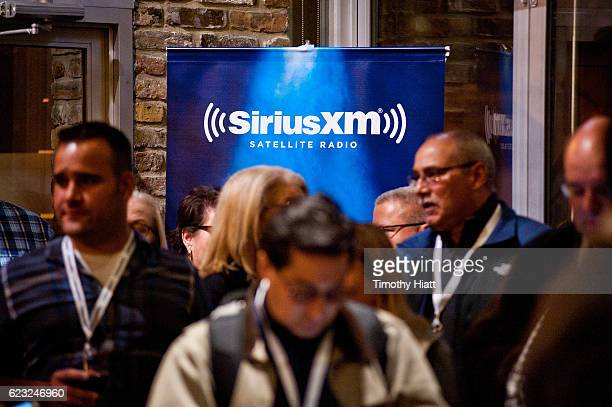 General atmosphere as Goo Goo Dolls perform a private concert for Sirius XM at City Winery on November 14 2016 in Chicago Illinois