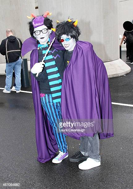 General Atmosphere at 2014 New York Comic Con Day 3 at Jacob Javitz Center on October 11 2014 in New York City