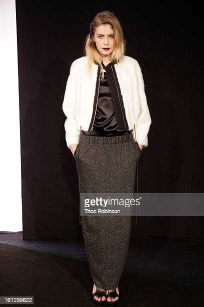General atmosphere at Bellavance Presentation MADE For Peroni Young Designer Award Winner at Milk Studios on February 9 2013 in New York City