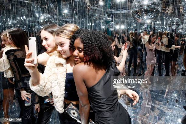 General atmosphere at Carrie Berk Carrie's Chronicles Relaunch at Winky Lux on December 17 2018 in New York City