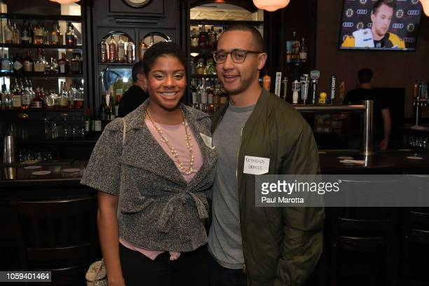 General atmosphere at DraftKings Hosts Veterans Appreciation Event at MJ O'Connors on November 8 2018 in Boston Massachusett