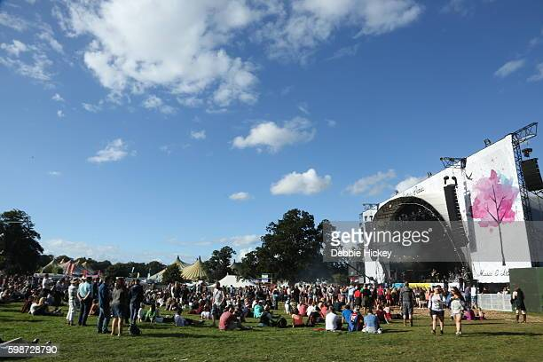 General atmosphere at Electric Picnic Festival at Stradbally Hall Estate on September 2 2016 in Dublin Ireland