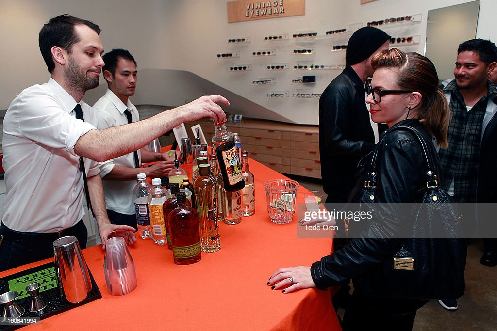 General Atmosphere at Garrett Leight California Optical Grand Opening on February 5, 2013 in Los Angeles, California.