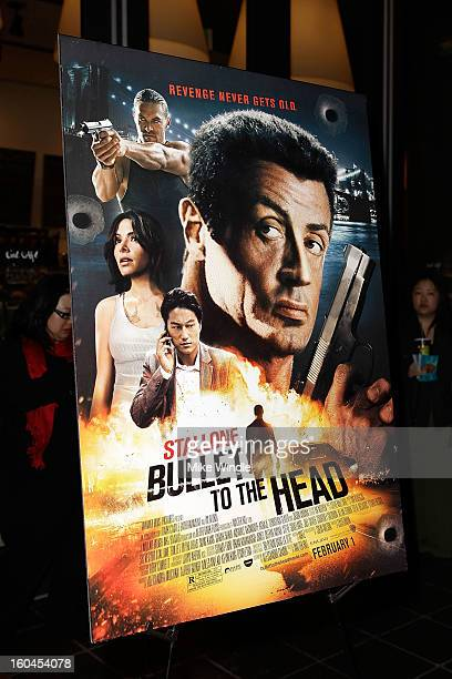 General atmosphere at KoreAm Journal and Audrey Magazine's advanced screening of 'Bullet To The Head' at CGV Cinemas on January 31 2013 in Los...