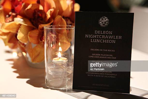 General atmosphere at NIGHTCRAWLER Luncheon Celebrating Golden Globe SAG Nominee Jake Gyllenhaal Sponsored By DeLeon Tequila on January 12 2015 in...