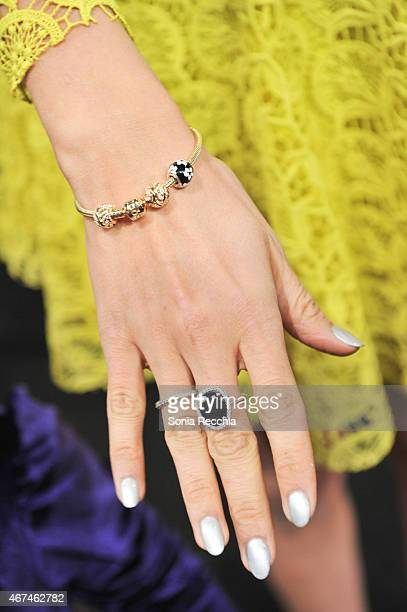 General atmosphere at PANDORA Jewelry At World MasterCard Fashion Week In Toronto at David Pecaut Square on March 24 2015 in Toronto Canada