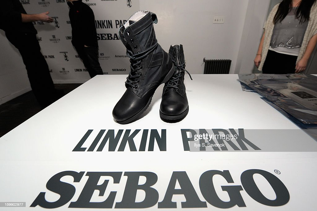 General atmosphere at Sebago and Linkin Park's launch of their collaboration at Reed Space NYC on January 22, 2013 in New York City.