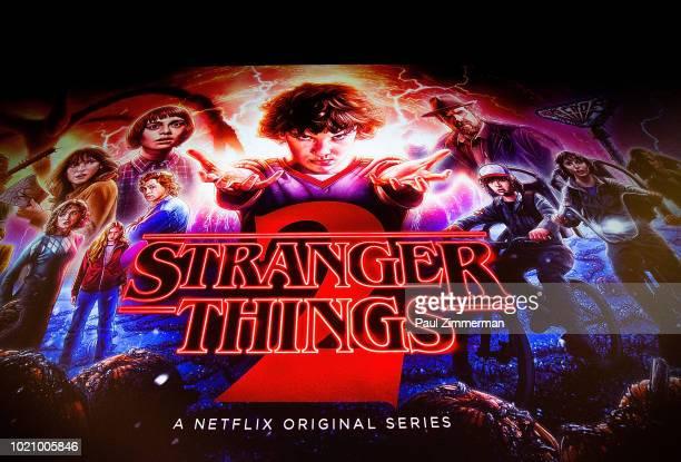 General atmosphere at 'Stranger Things Season 2' screening at AMC Lincoln Square Theater on August 21, 2018 in New York City.