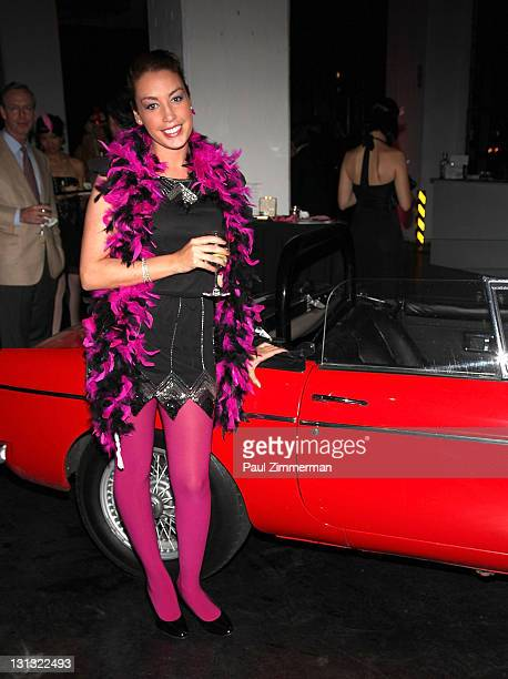 General atmosphere at the 2011 Great Gatsby Gala at the Classic Car Club on November 3 2011 in New York City