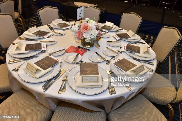 General atmosphere at the 2nd Annual Pedro Martinez Charity Gala at The Colonnade Boston Hotel on November 3 2017 in Boston Massachusetts
