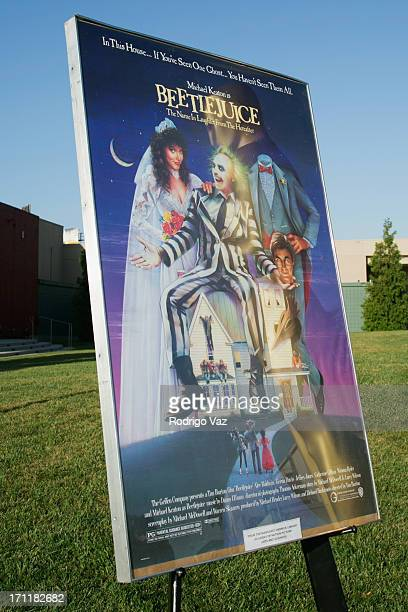 General atmosphere at the Academy of Motion Picture Arts and Sciences' Oscars Outdoors screening of Beetlejuice on June 22 2013 in Hollywood...