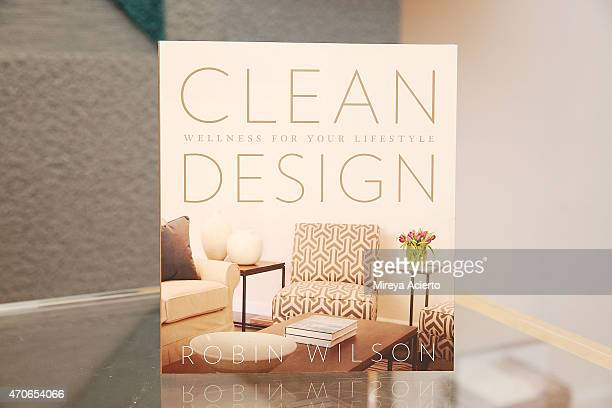General atmosphere at the book signing of Clean Design at FLOR Design Store on April 21 2015 in New York City