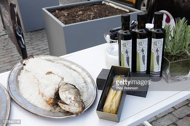 General atmosphere at The Cosmopolitan Of Las Vegas Concludes It 'Slice' At NYCWFF With Olive Oil Tasting With Chef Costas Spiliadis And Happy Hour...