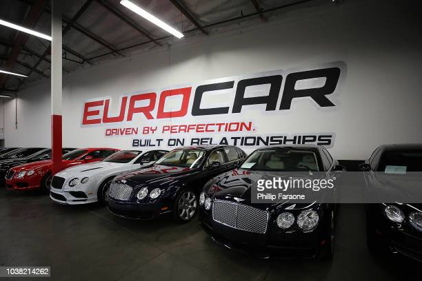 Nafe and Leah D attend the Eurocollective at Eurocar Watch Boutique Grand Opening on September 22 2018 in Costa Mesa California