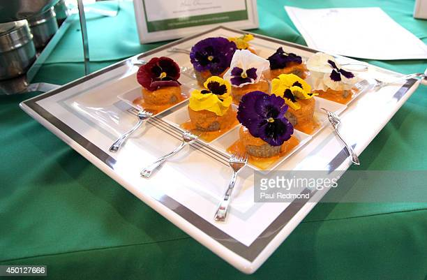 General atmosphere at the Greater Los Angeles Zoo Association's Beastly Ball Fundraiser Menu Media Preview at Los Angeles Zoo on June 5, 2014 in Los...