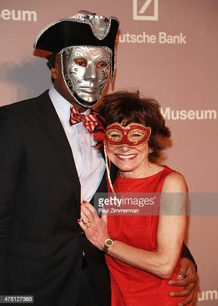 General atmosphere at the Jewish Museum's Purim Ball 2014 at Park Avenue Armory on February 26 2014 in New York City