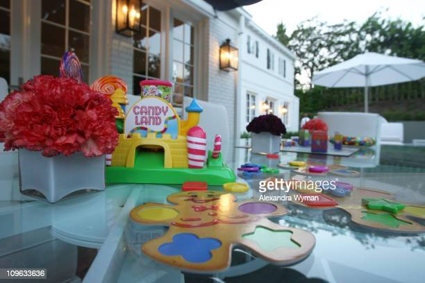 General Atmosphere at The Lollipop Theater Network's Game Day 2009 Sneak Peek Event held at The Home of Janet Crown on September 16 2008 in Los...