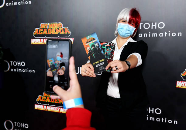 """CA: The Los Angeles Premiere Of """"My Hero Academia: World Heroes' Mission"""""""