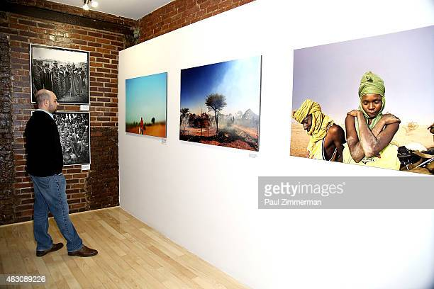 General atmosphere at the Lynsey Addario's Book Launch Party on February 6 2015 in New York City