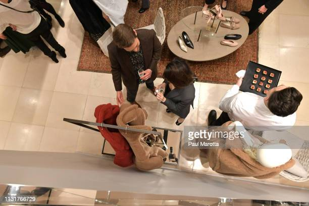 General atmosphere at the Max Mara Celebrates Huma Bhabha 'They Live' At ICA/Boston on March 20 2019 in Boston Massachusetts