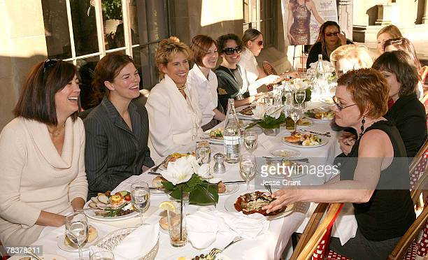 General atmosphere at the More Magazine and Women In Film filmmaker luncheon at Chateau Marmont on December 10 2007 in West Hollywood California