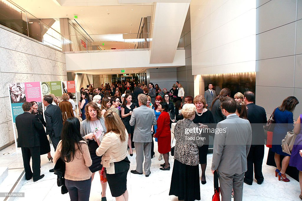 The National Women's History Museum (NWHM) Hosts Exclusive Cocktail Reception Honoring Jennifer Siebel Newson And Dolores Huerta : News Photo