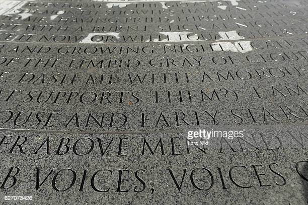 General atmosphere at the New York City AIDS Memorial during World AIDS Day 2016 on December 1 2016 in New York City