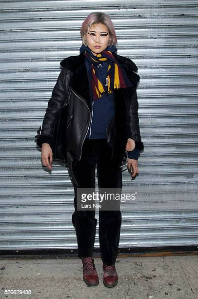 """General atmosphere at the """"Nicopanda Fashion Collection Presentation"""" - departures during NYFW A/W 2016 at 541 West 22nd Street in New York City. ��..."""