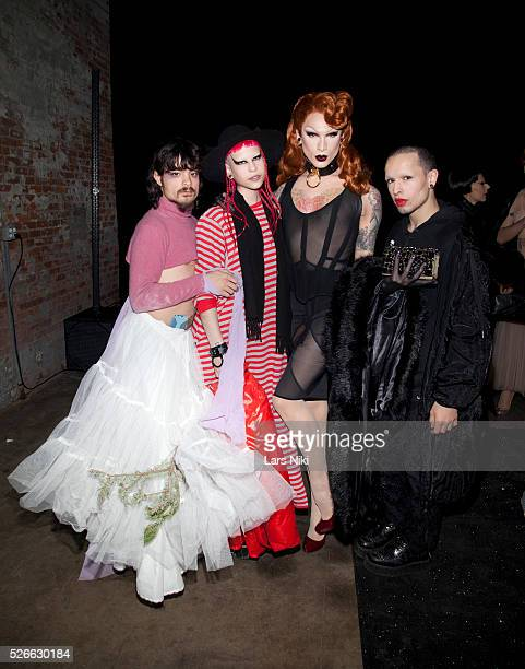 """General atmosphere at the """"Nicopanda Fashion Collection Presentation"""" during NYFW A/W 2016 at 541 West 22nd Street in New York City. �� LAN"""