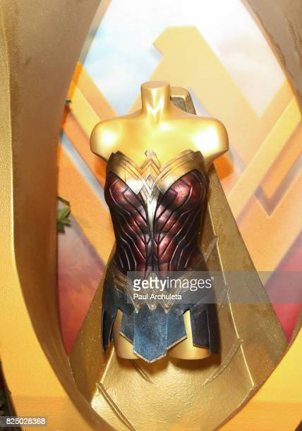 General Atmosphere at the opening of the 'Wonder Woman' BehindTheScenes Experience at Warner Bros Studios on July 31 2017 in Burbank California