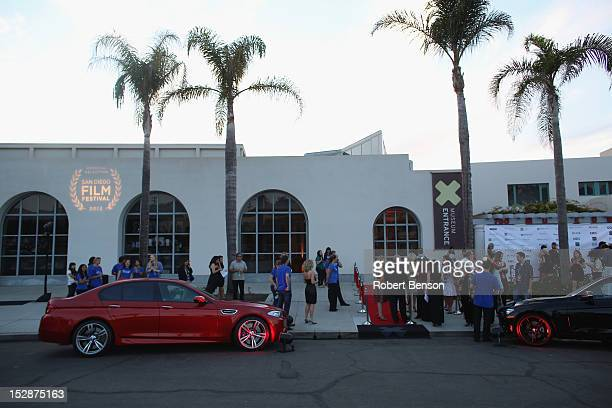 General atmosphere at The San Diego Film Festival's Gus Van Sant Tribute And Retrospectiveat at the Museum of Contemporary Art on September 27 2012...