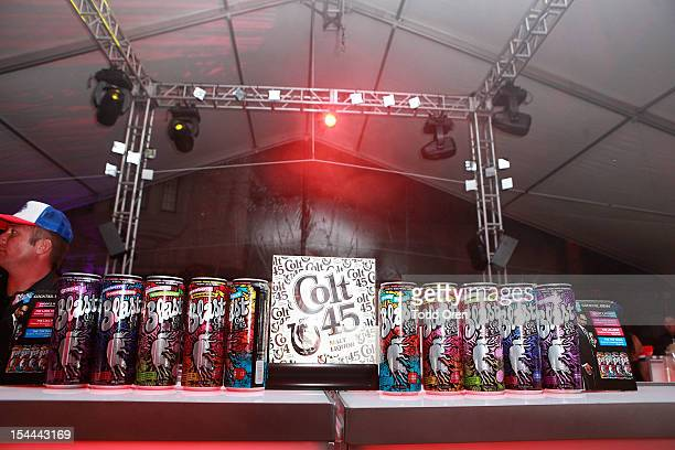 General Atmosphere at the Snoop Dogg Presents Colt 45 Works Every Time at The Playboy Mansion Party with Evan and Daren Metropulos on October 19 2012...