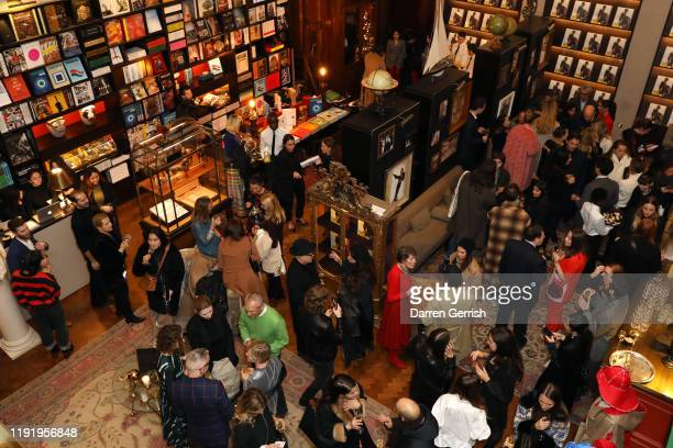 General atmosphere at the Sportmax cocktail event to celebrate the 50th anniversary with a book published by Assouline at Maison Assouline on...